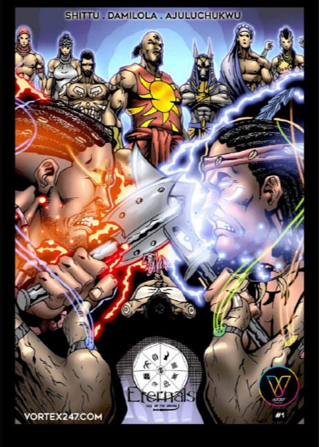 Eternals #1: 3rd Conclave